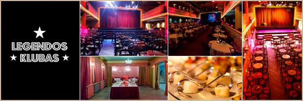 Konferencijų salės Vilniuje, muzikinis teatras, Legendos klubas, Auditorija.lt