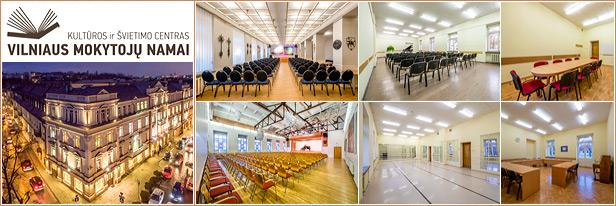 Konferenciju sale Vilniuje - Vilniaus mokytojų namai - conference halls in Vilnius