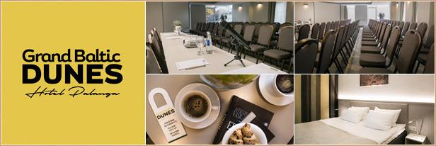 Konferenciju centras Palangoje - Grand Baltic Dunes Hotel Palanga