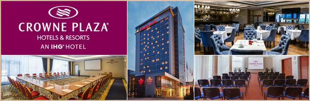 Konferenciju sales nuoma Vilniuje, Crowne Plaza Vilnius. Conference halls and business venues in Vilnius.