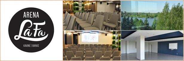 Konferenciju sale Panevezys, Arena Lafa, Auditorija.lt