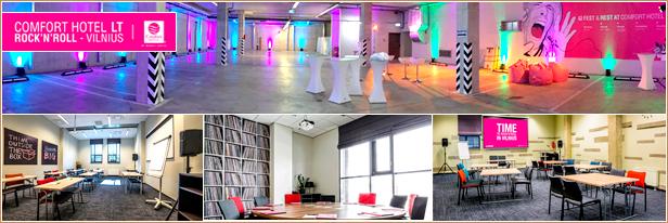 Konferenciju sales Vilnius, Comfort Hotel LT