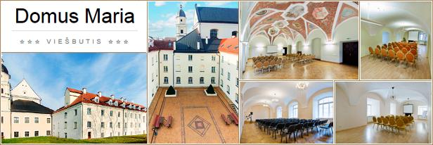 Konferenciju sales nuoma Vilniuje, Domus Maria hotel
