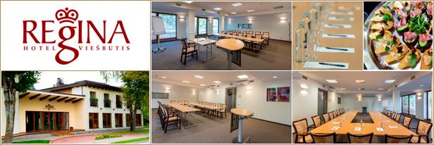 """Konferencijų salės Druskininkuose, viešbutis-restoranas """"Regina"""", Conference halls, venues in Druskininkai"""