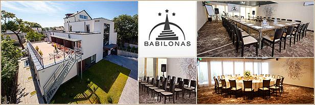 Konferencijų salės, restoranas, viešbutis Kaune - Babilonas.
