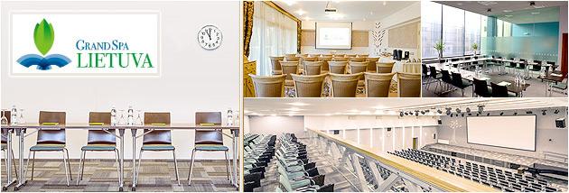 Konferenciju sales Druskininkuose, Grand Spa Lietuva