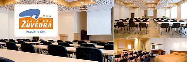 Konferenciju saliu nuoma Palangoje, SPA - Palangos zuvedra