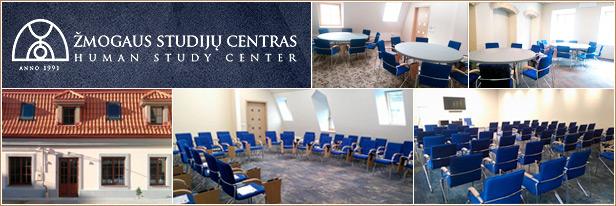 Konferenciju centras Vilniuje, Žmogaus studijų centras, Human Study - Auditorija.lt